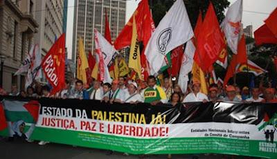 Ato histórico em São Paulo pelo Estado da Palestina Já - foto 6