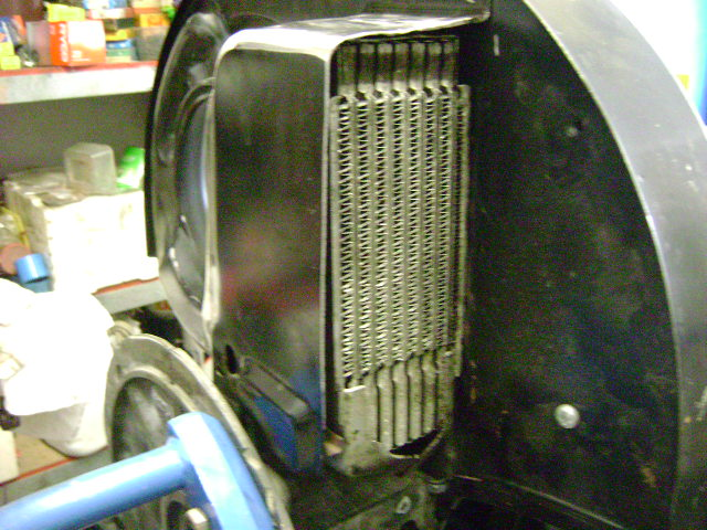 Vw 2 5 Oil Cooler : Car and bike fabrication vw type iv oil cooler conversion