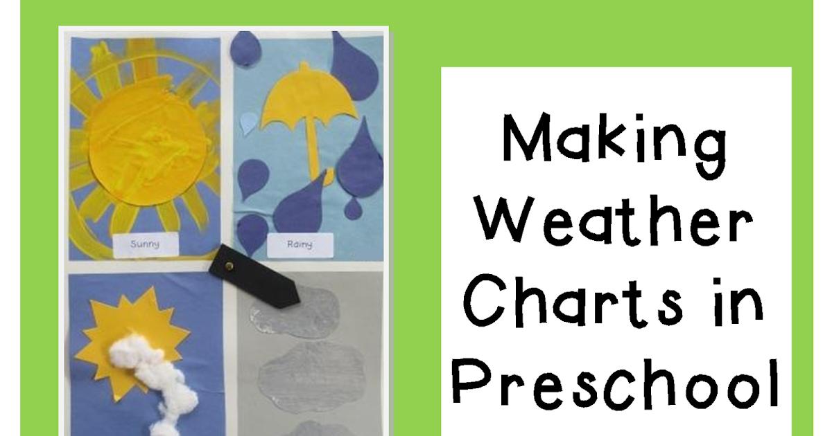 Teaching The Little People: Making Weather Charts in Preschool