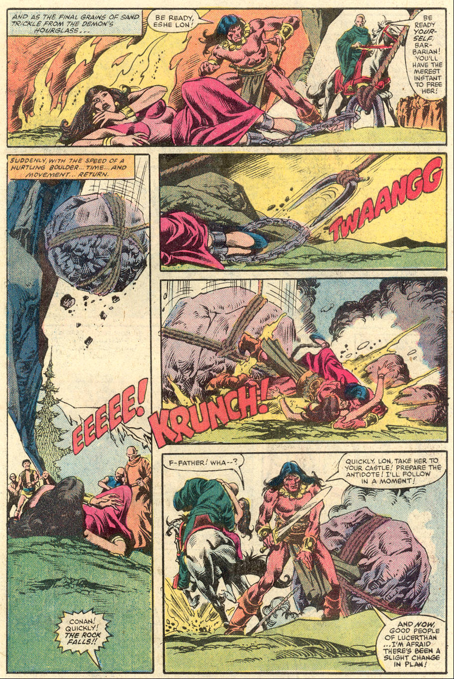 Conan the Barbarian (1970) Issue #134 #146 - English 20