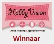 """Winnaar Hobby Vision op 19-04 2019 (#83) """"Lavendel"""""""