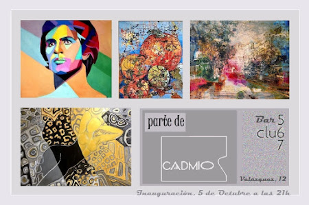 Exposición colectiva. Parte de CADMIO II -  Bar 567