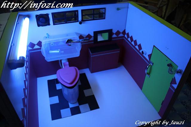 Projek elektronik smart toilet