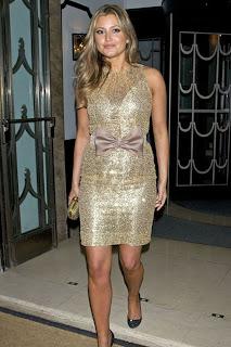 Holly Valance Shiny Minidress