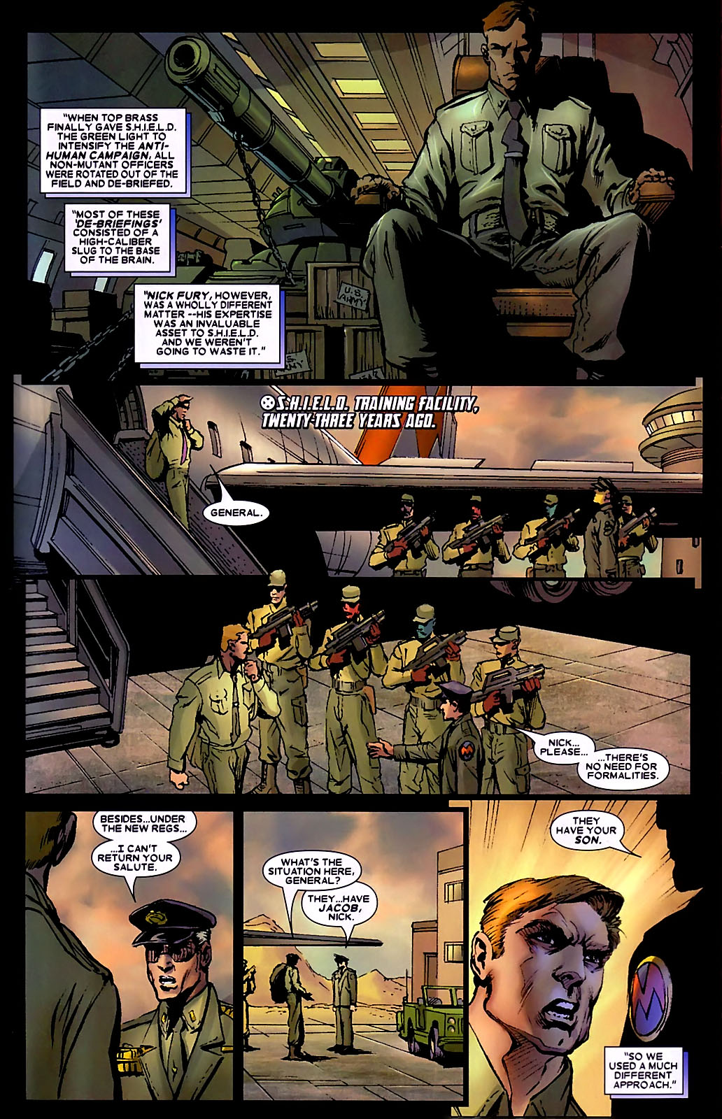 Read online Wolverine (2003) comic -  Issue #34 - 5