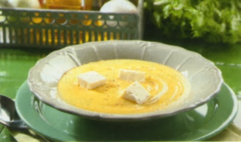 Crema de escarola con queso feta (TM31)