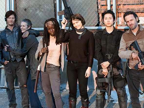 The Walking Dead cast team
