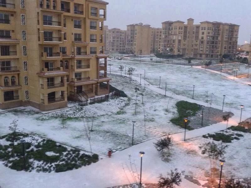Gambar Salji Turun Di Mesir Bukan Petanda Kiamat
