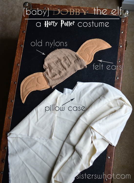 Dobby the house elf costume & DIY Dobby the House Elf baby costume a Harry Potter Costume ...