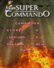 Game bắn súng Lính Biệt Động Super Commando