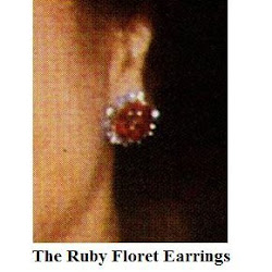 Sophie, Countess of Wessex Style - THE RUBY Floret Earrings LK BENNETT Pumps