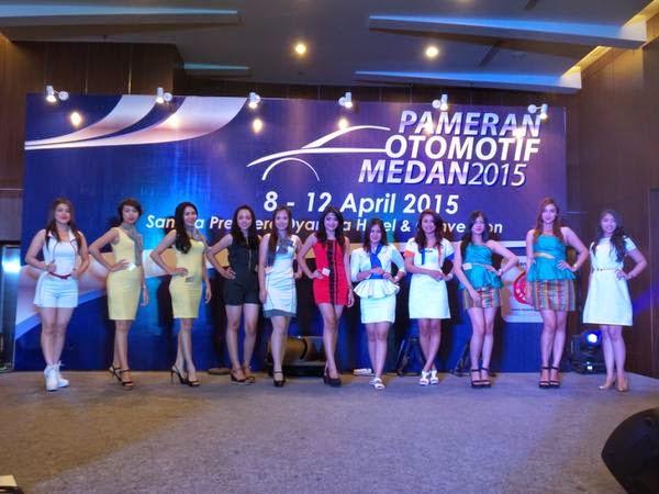 Miss Motor Show Medan