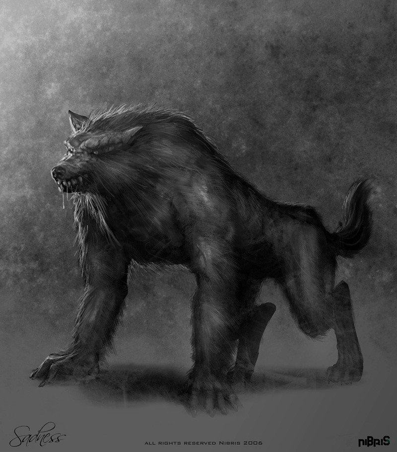 Black And White Werewolf Images & Pictures - Becuo