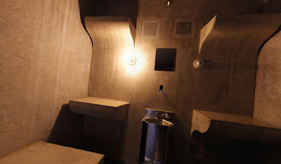 Cell LL, the isolation cell adjacent to Oklahoma's death chamber