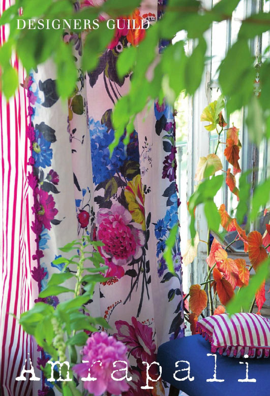 Designers guild the amrapali collection tienda on line de cortinas panel japon s - Designers guild telas ...