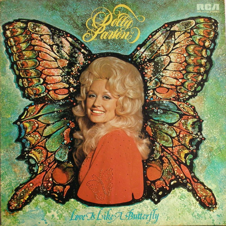 Dolly Parton: Love is Like a Butterfly - cd cover