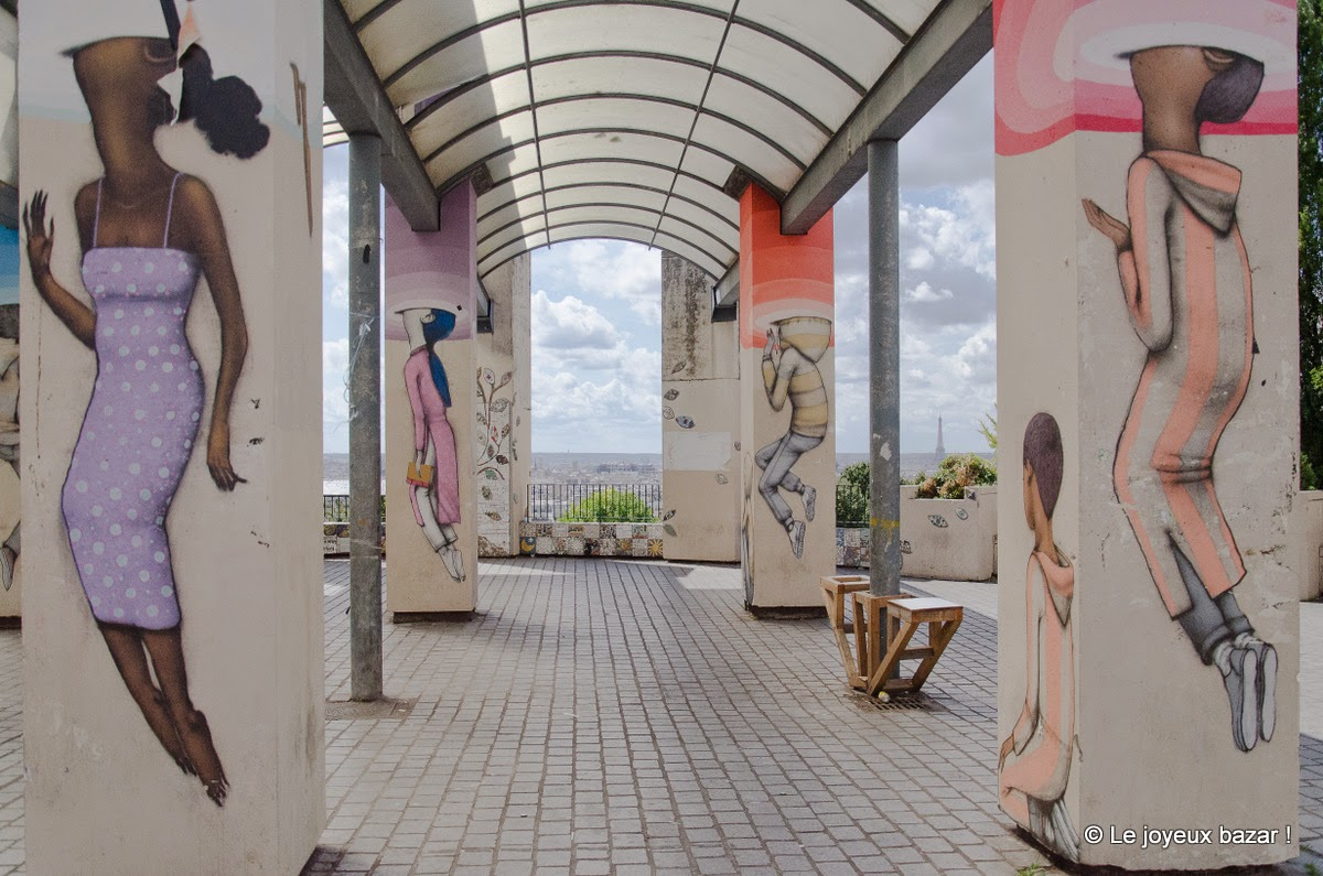 Paris - Belleville - street art - Seth