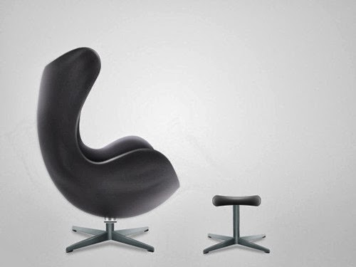 Realistic Modern Chair in Photoshop