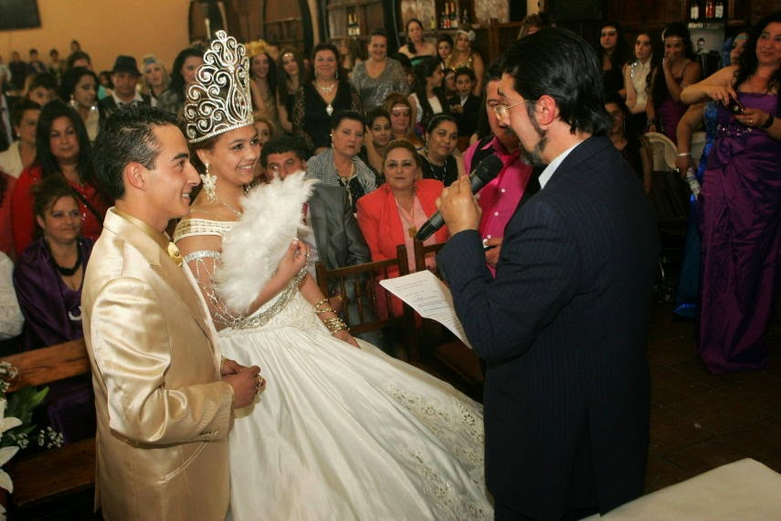 Boda Gitana Gipsy King : Canela y oro amor gitano