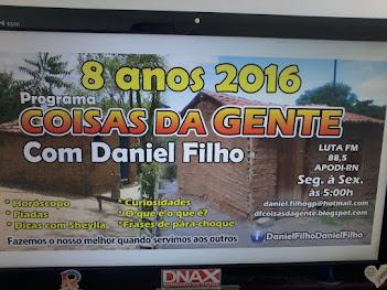 8 ANOS NO AR PROGRAMA COISAS DA GENTE NA LUTA FM DE APODI/RN  AS 05:00 HORAS