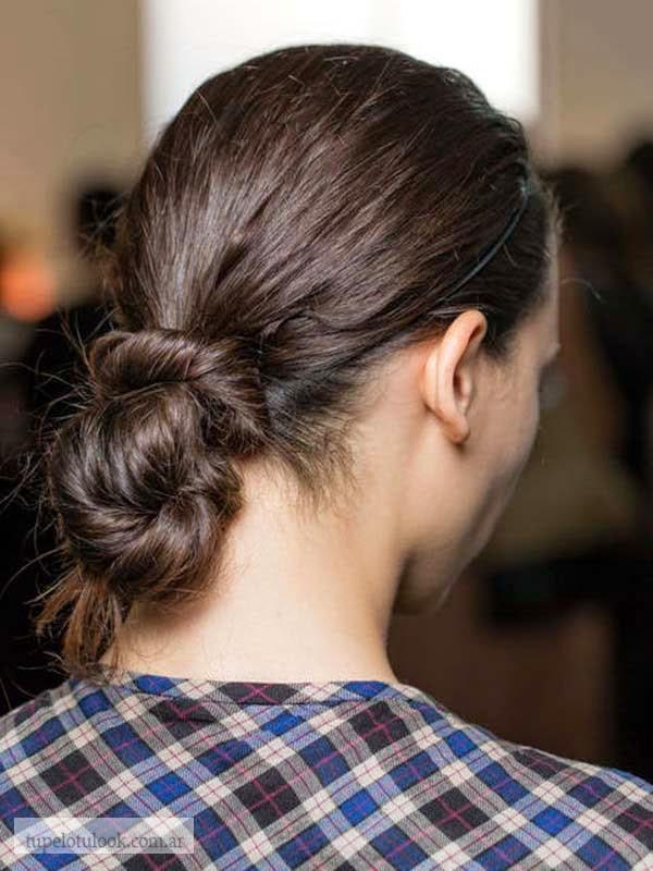 peinados con torzadas 2015