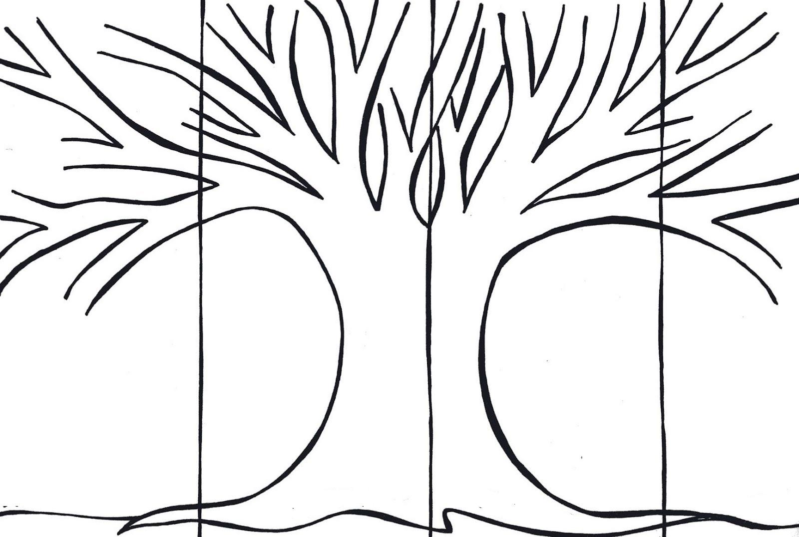 friendship tree template - boberkowy world cztery pory roku konspekt zaj dla 5