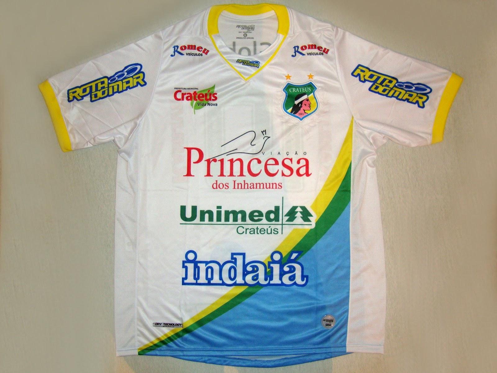 24769453e2 Crateús Esporte Clube (CE) - Show de Camisas