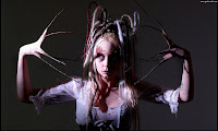 Creepy Hands Girl - Dark Gothic Wallpapers