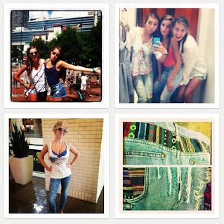 Free People's #myfpdenim's campaign on Instagram