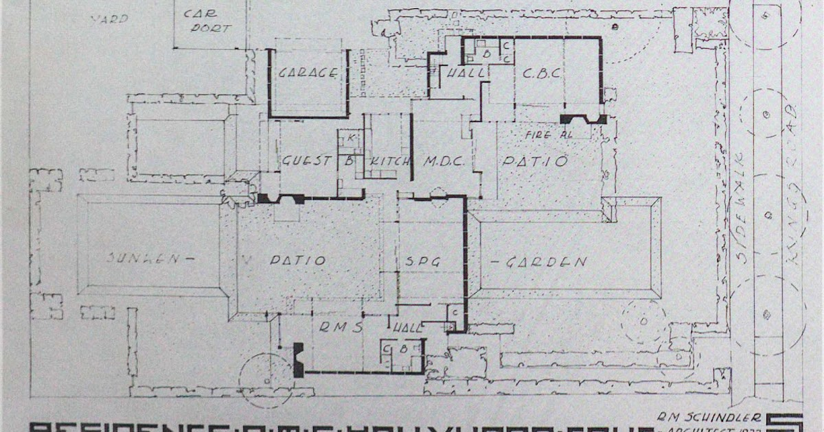 schindler-chace house: the construction