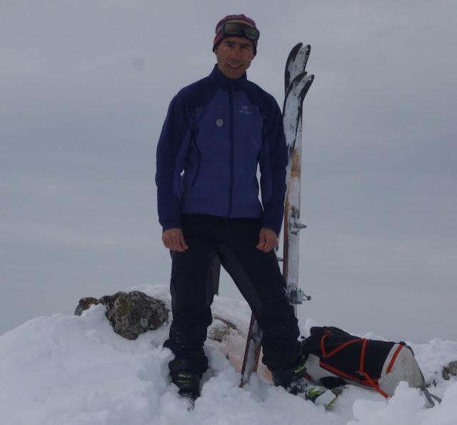 Esqui de montaña Aralar:Txindoki(1342m)