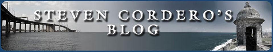 Steven Cordero's Blog