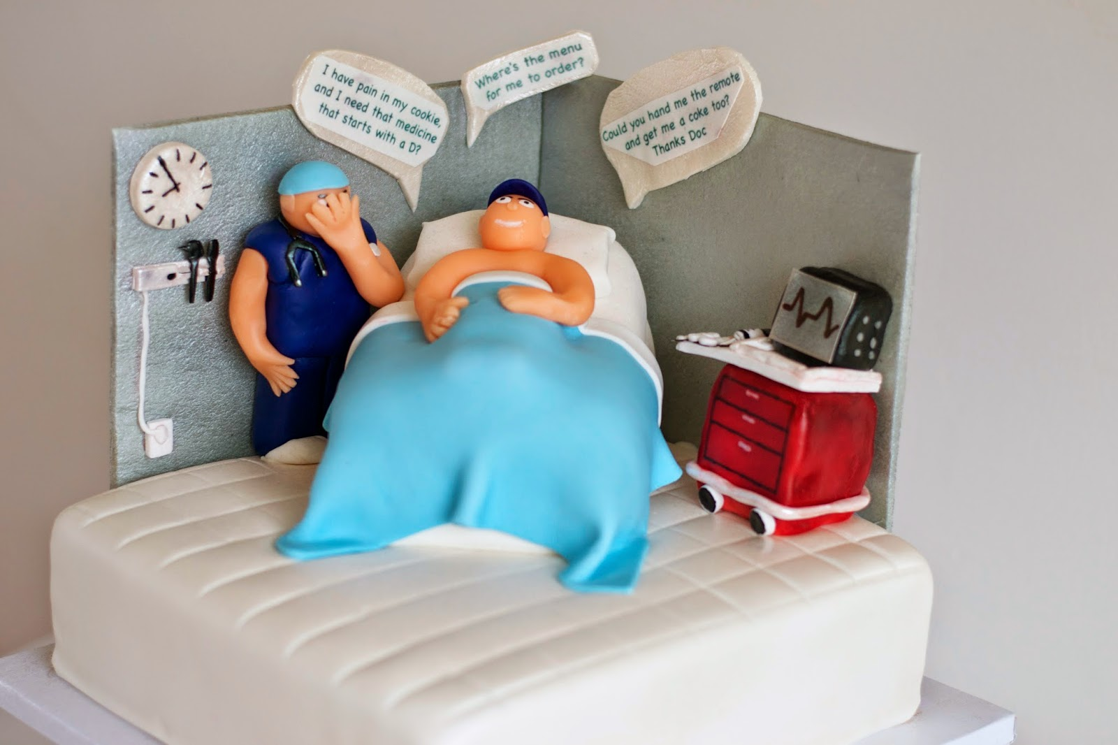 Utah County Wedding Cakes & Dessert Catering, Emergency Room Doctor Cake