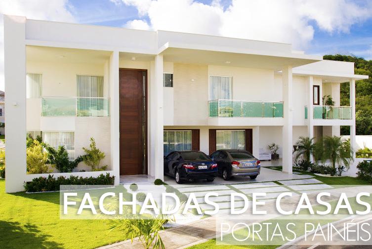 Entrada de casas modernas fachadas de cocheras frentes de casas con garajes casa moderna de - Entrada de casas modernas ...