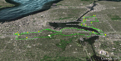 Seattle Urban Hike Route
