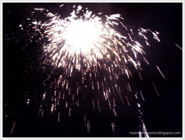 firecrackers, rockets