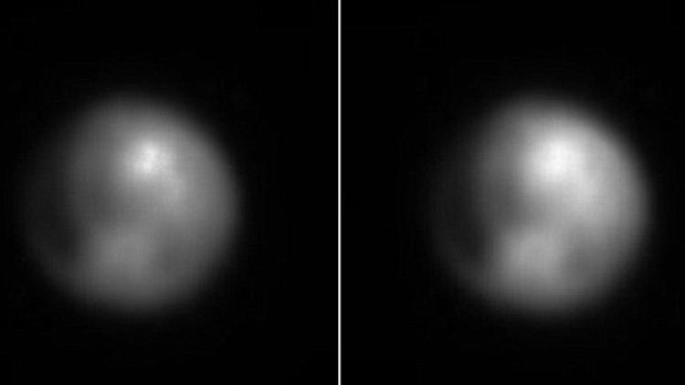 La sonda New Horizons detectó en Plutón una mancha brillante de origen desconocido