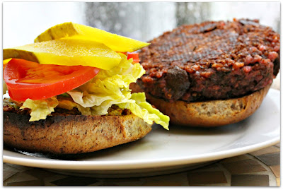 ... slices make all the difference. This is a crave worthy veggie burger