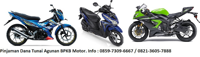 Pinjaman Dana Tunai BPKB Motor