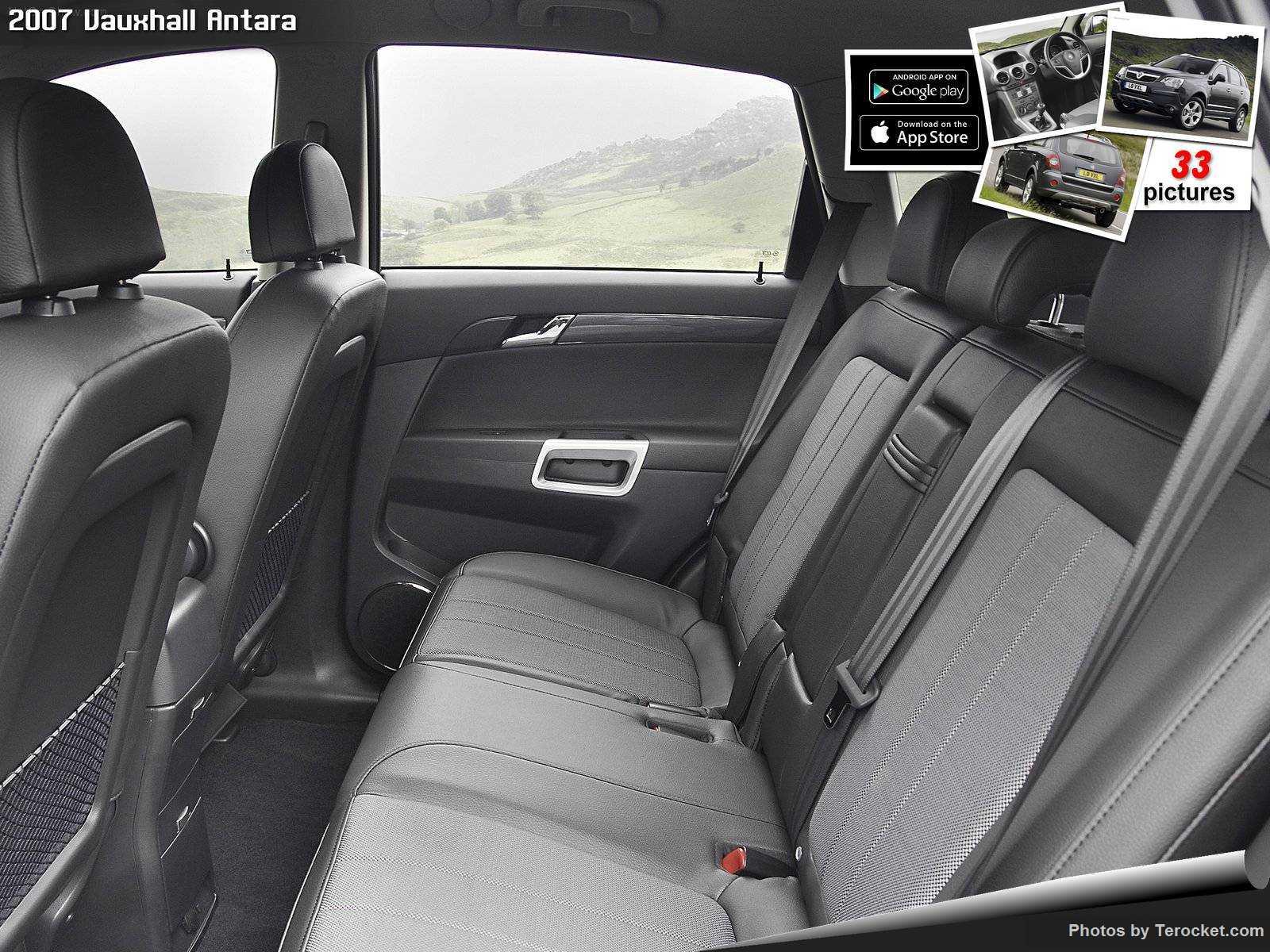 Hình ảnh xe ô tô Vauxhall Antara 2007 & nội ngoại thất