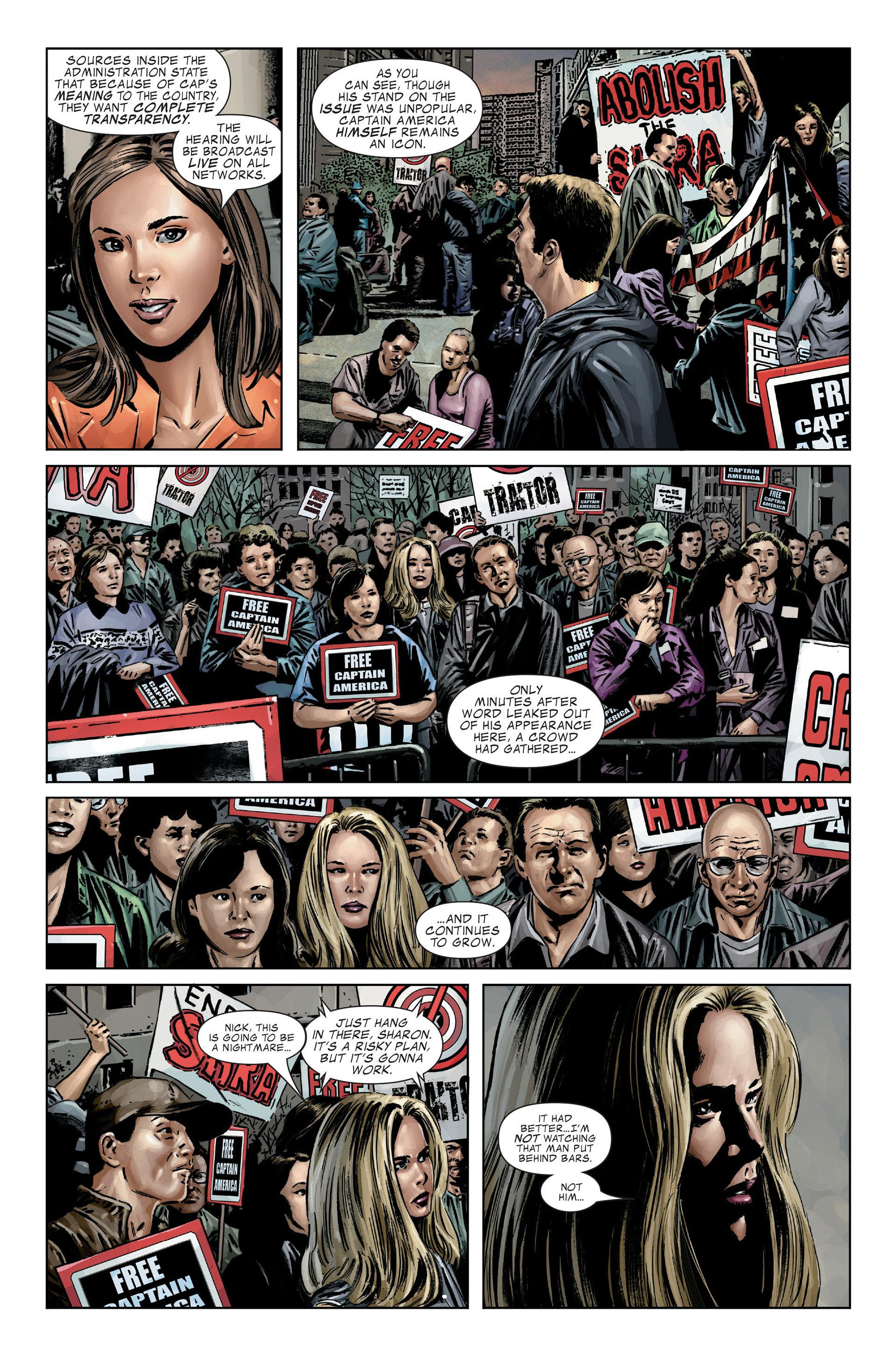 Captain America (2005) Issue #25 #25 - English 8