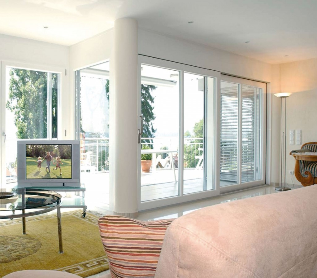 Puertas y ventanas modernas ideas para decorar dise ar for Puertas en casas modernas