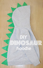 DIY Dinosaur Hoodie