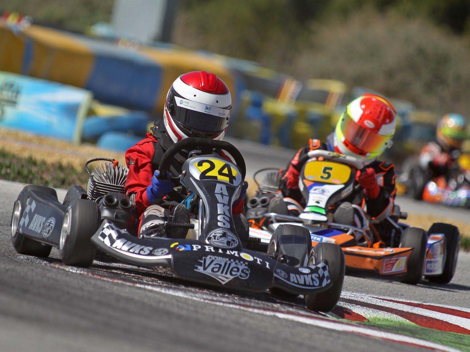 Circuito Karting : Benferri karting club abril
