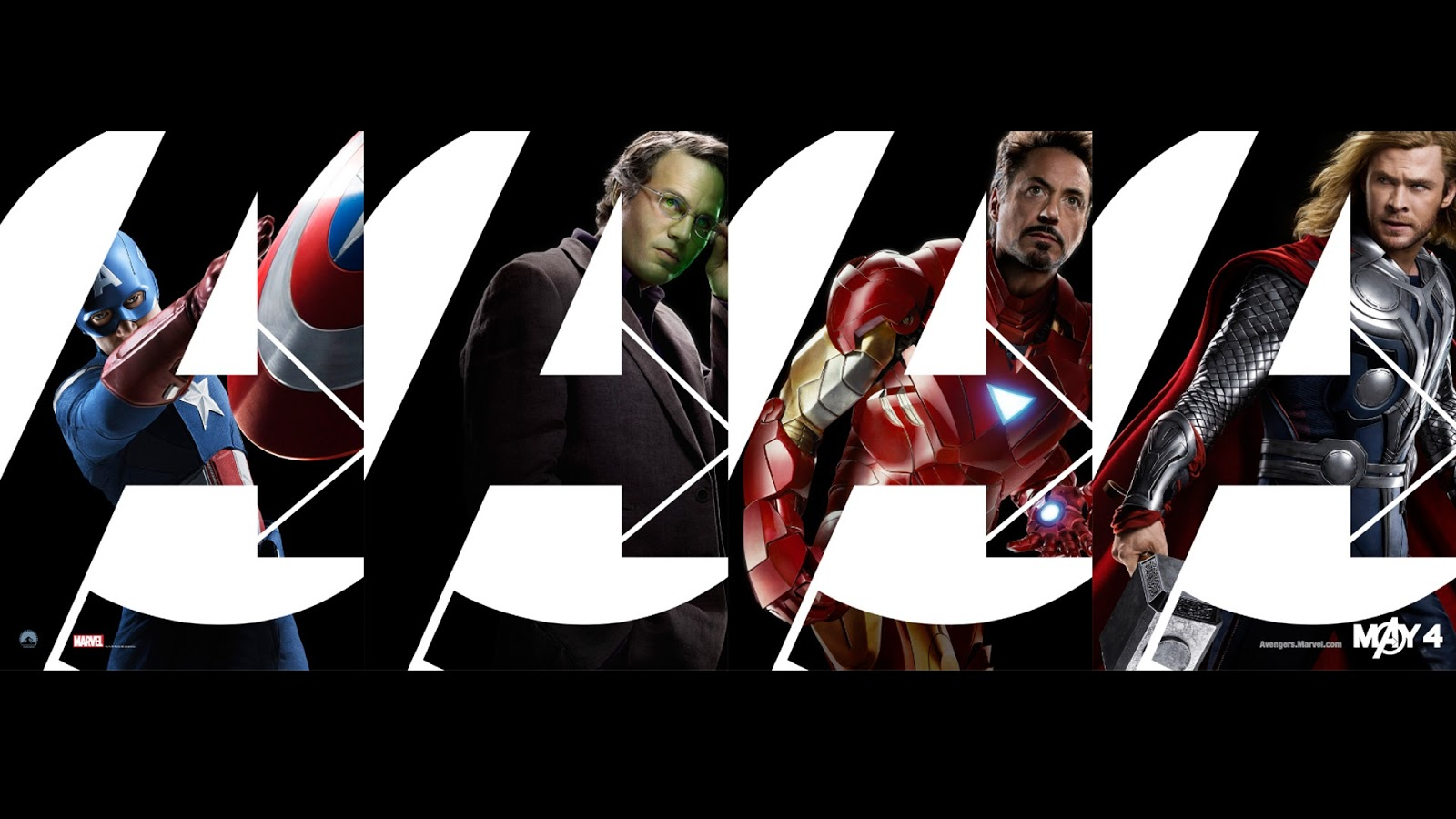 Super Heroes in Avengers Wallpaper HD