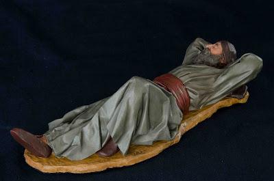 Belén presepe nativity krippe Arturo Serra escultura barro cocido 7