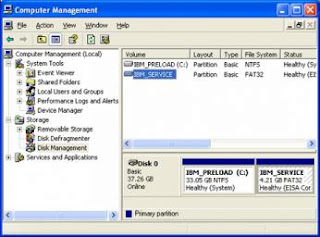 Hard disk defragment with windows XP