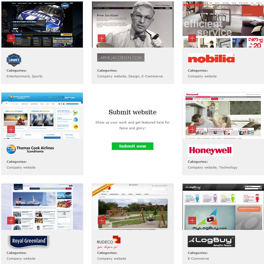 Примеры сайтов на Composite C1 CMS