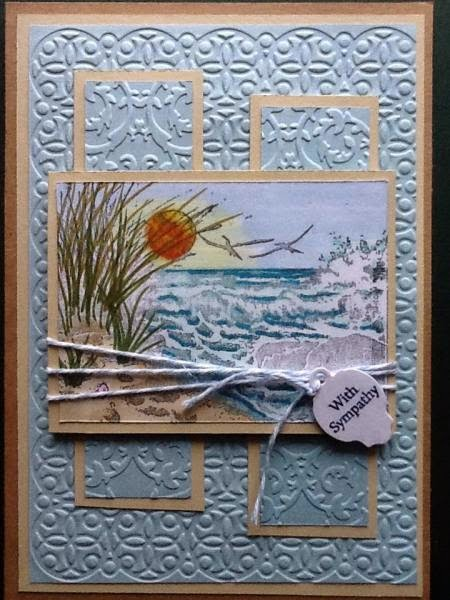 ODBD The Might Sea, Mini Tag Sentiments, ODBD Custom Mini Tags Dies, ODBD Customer Card of the Day by weaver
