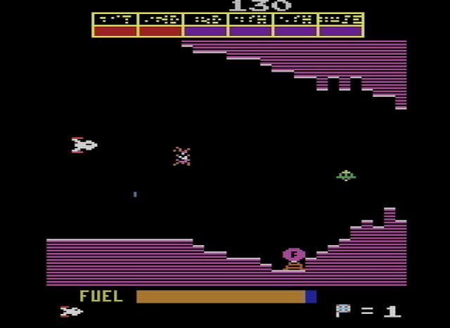 El mítico Scramble de Konami ahora también en Atari 2600
